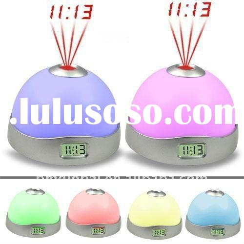 Color-Changing Digital Projection Alarm Clock