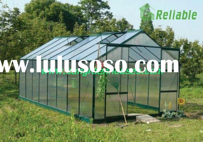 DIY Hobby Garden Green house kit in Aluminum Frame