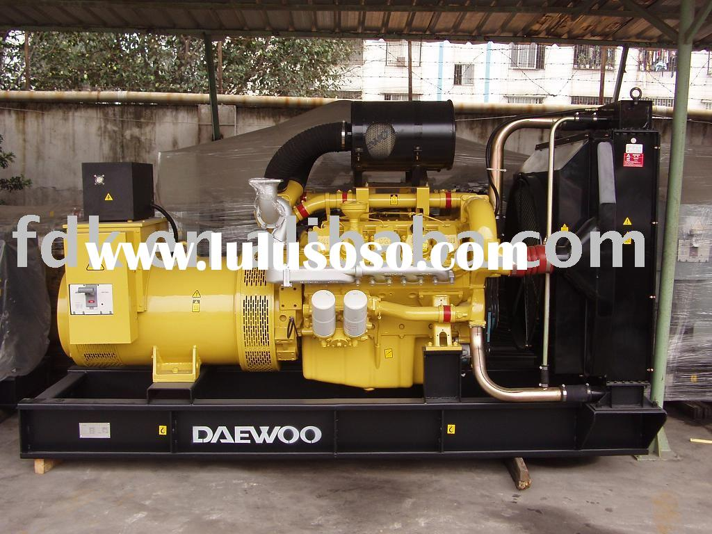 Diesel generator powered by Daewoo engine D1146 series
