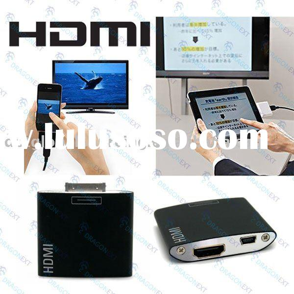 Dock To HDMI 720P/1080P HD USB Adapter TV Connector For Apple iPhone/iPad/iPod Touch