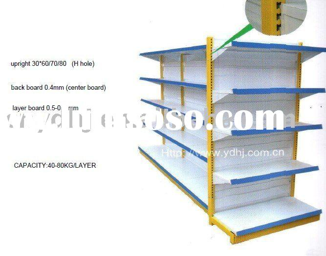 Double Side Back Wire Shelf/Mini-mart Shelving System /Shelving System