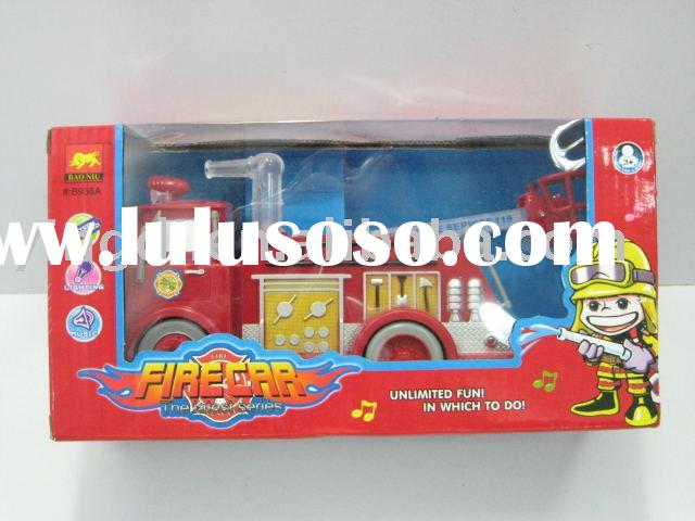 ELECTRIC FIRE ENGINE (plastic toys .toys ..toy car )