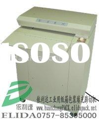 ELIDA corrugated case swelling and cutting machine/ ELD-425 industrial corrugated case shredder/cart