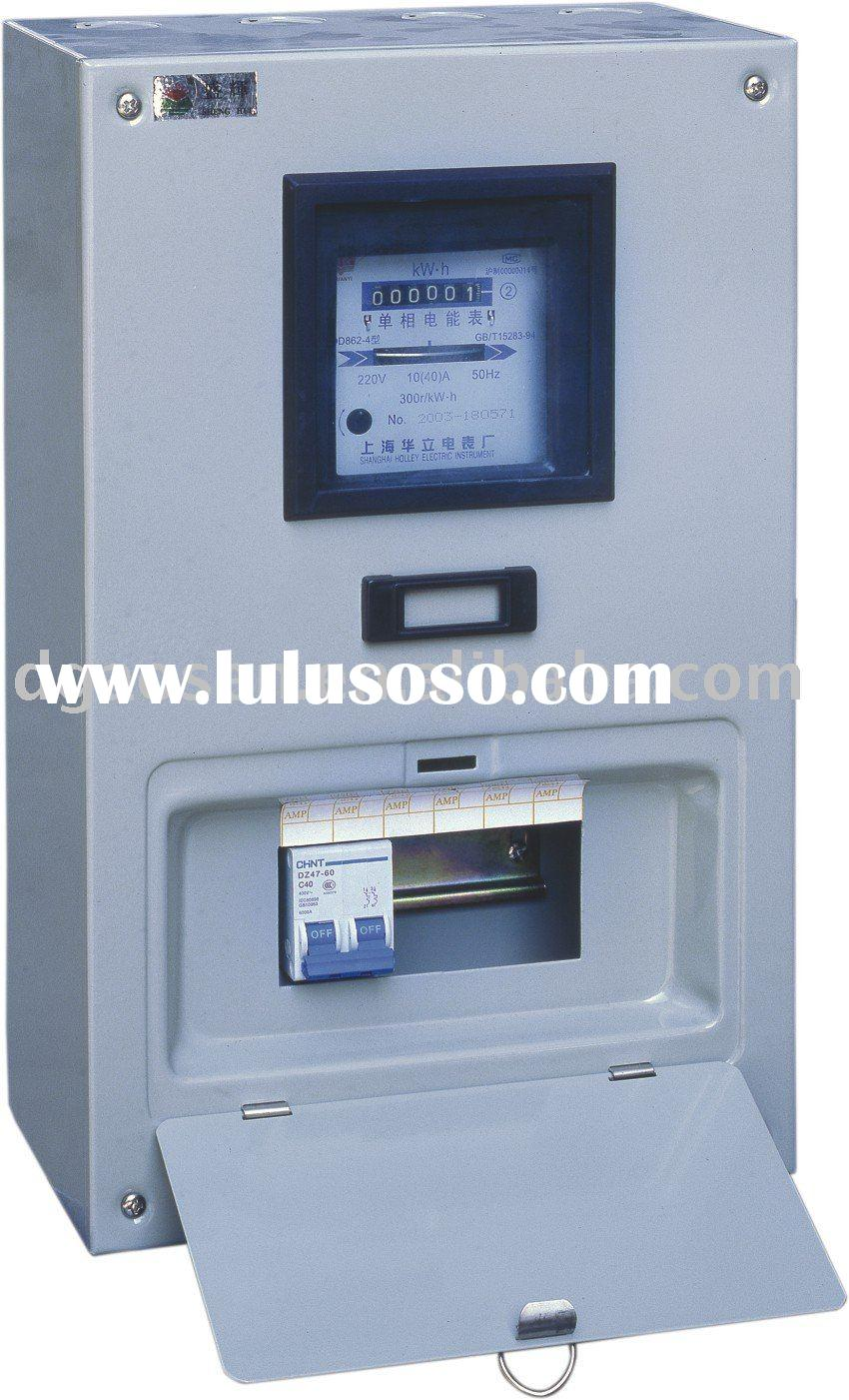 Electrical Power Meter Boxes : Electric receptacle boxes