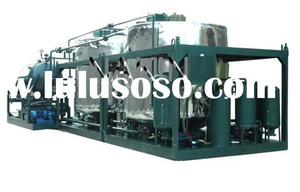 Engine oil recycling system engine oil recycling system for Sell used motor oil