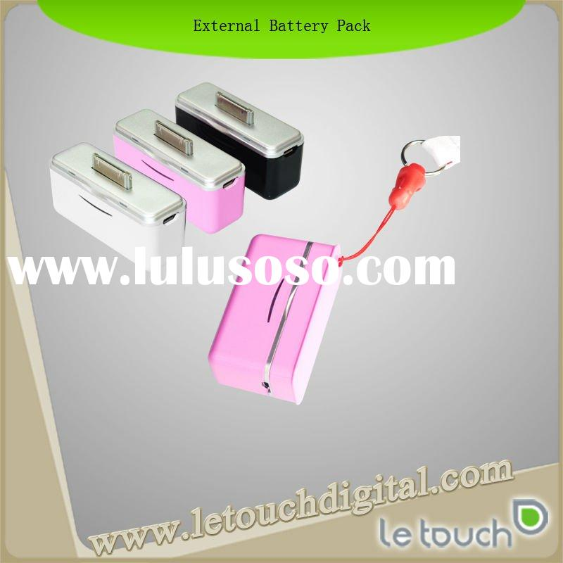 External Mini Battery Pack For Apple iPhone and iPod touch with keychain