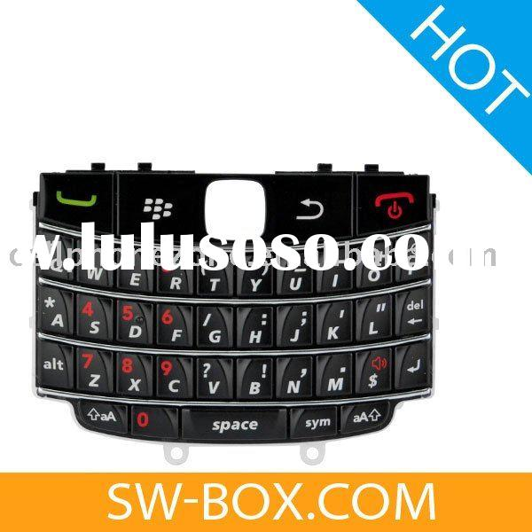For BlackBerry Bold 9650 Keypad Keyboard - Black (OEM) /mobile phone accessories