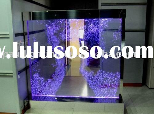 Free standing water bubble wall,indoor waterfall ,Aquarium, fish tank,room divider ,water bubble wal