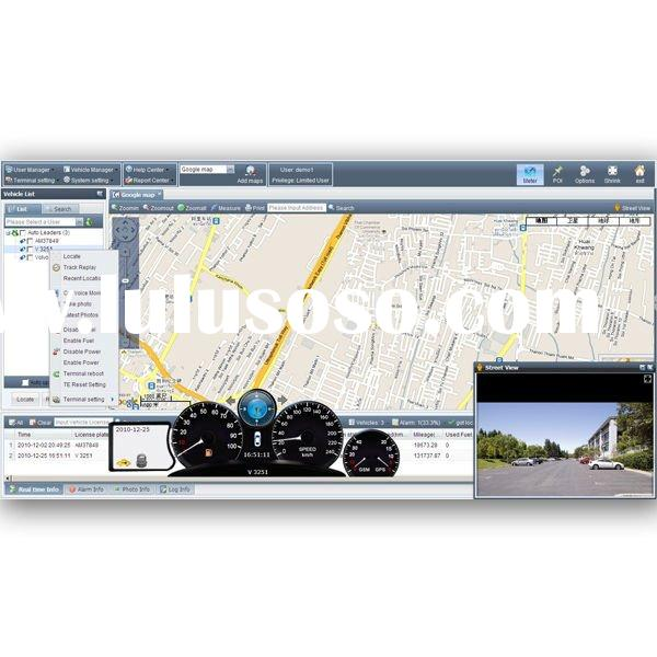 GPS/GPRS tracking system,fleet management with Google map and MSmap, several reports
