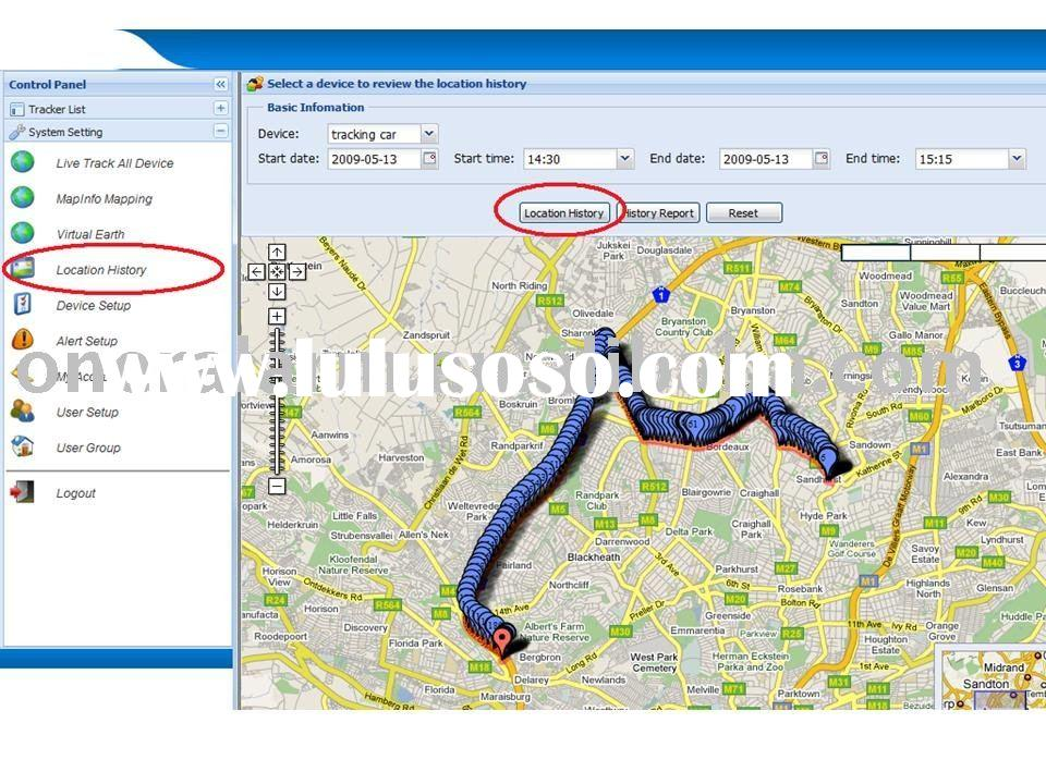 GPS vehicle tracking system/fleet management Software Oner Alarm