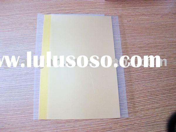 Golden PET ID Card pet plastic raw material