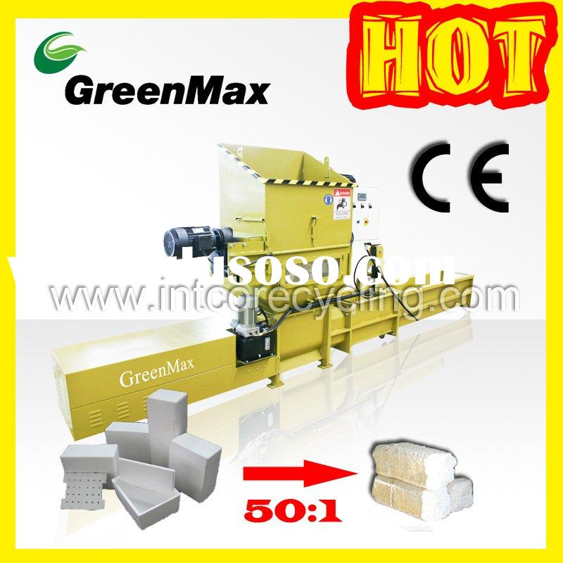 GreenMax C200 Plastic recycling machine (EPS foam)