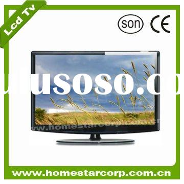 HD 32''LCD TV with black with good price with popular Panel Brand with CE