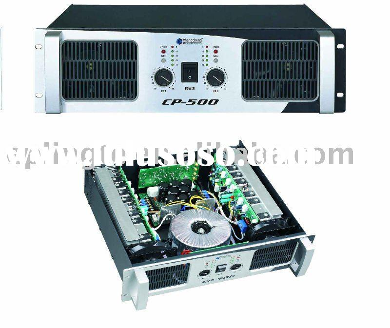 High Power Audio Amplifier Power Amplifier Audio Equipment Supplier and Manufacturer