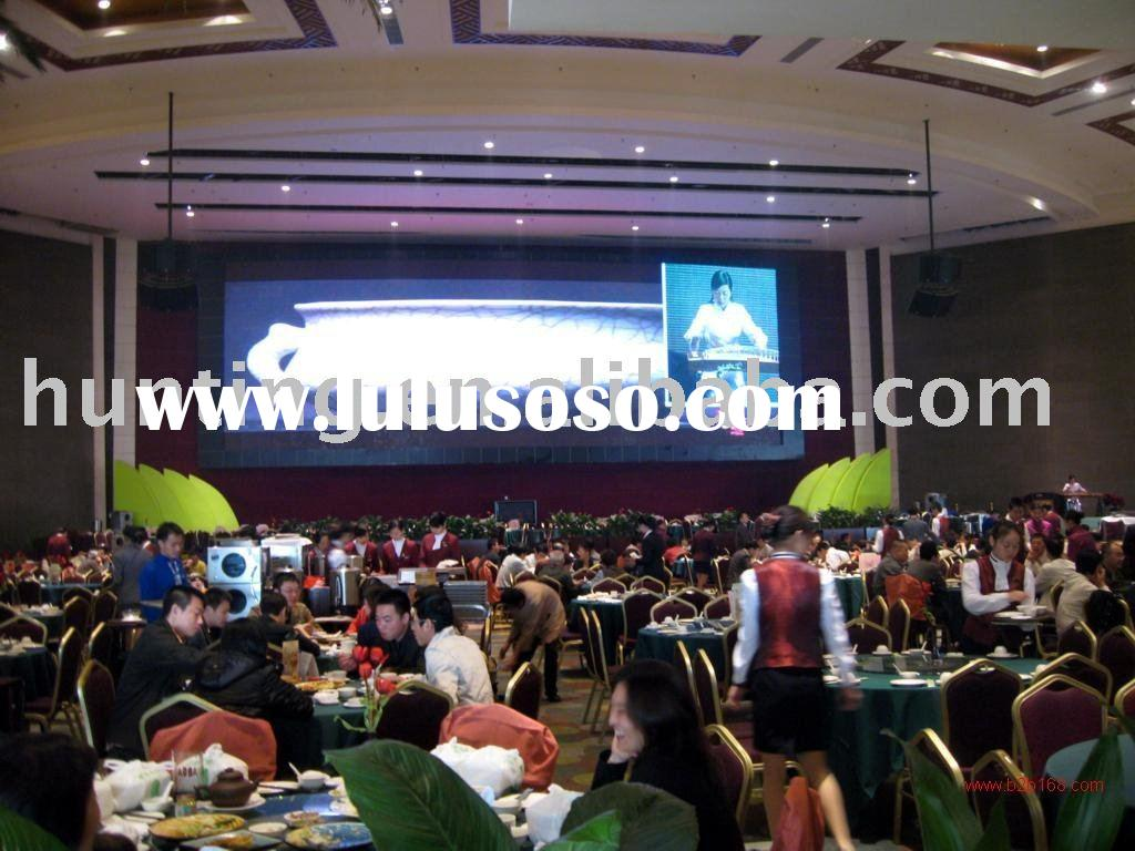 Hotel Restaurant LED display screen Indoor full color HX-P10LED display LED panel LED display board
