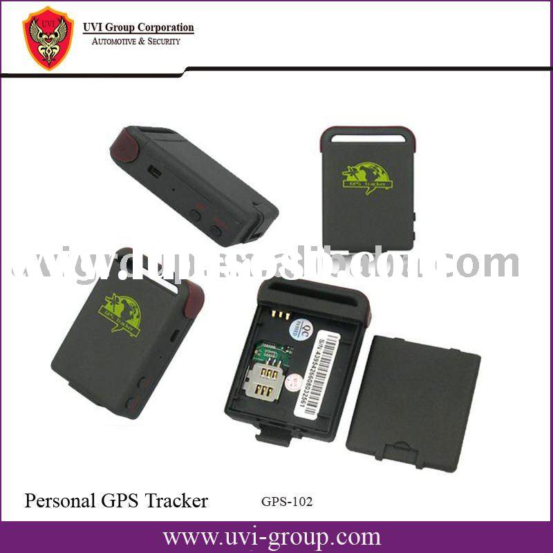 Human GPS Tracker with free PC-based Software and tracking by PDA, and google earth TK 102