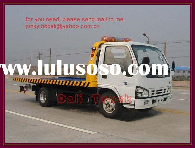 ISUZU road wrecker truck