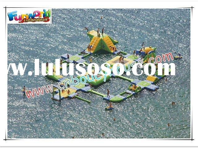 Inflatable amusement water park/water entertainment equipment/games