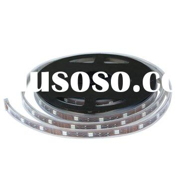 LED Strip Light with Waterproof rating IP68, Runs on 12-volt systems like solar cell charged batteri