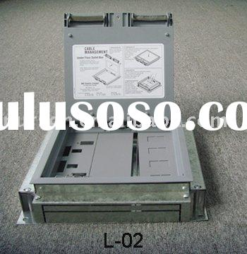 L-02 floor outlet/floor outlets/electrical floor box