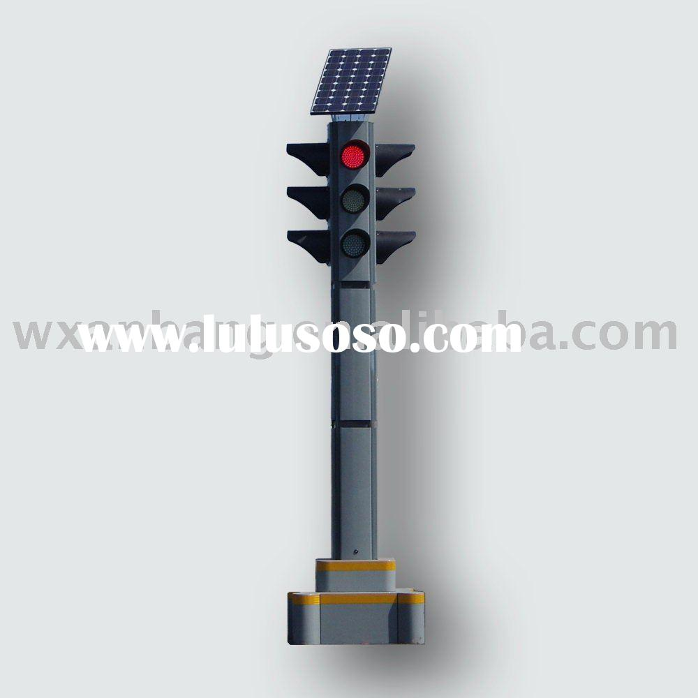 Led Solar Traffic Light/led solar mobile traffic light