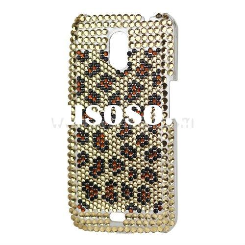 Leopard Bling Diamond Case for Samsung Galaxy Nexus I9250 / I515