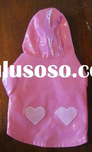 Lulu Pink Dog Rain Coat