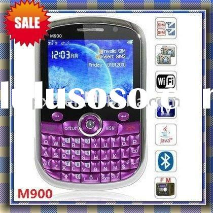 M900 TV WiFi mobile phone/QuadBand/JAVA/QWERTY keyboard