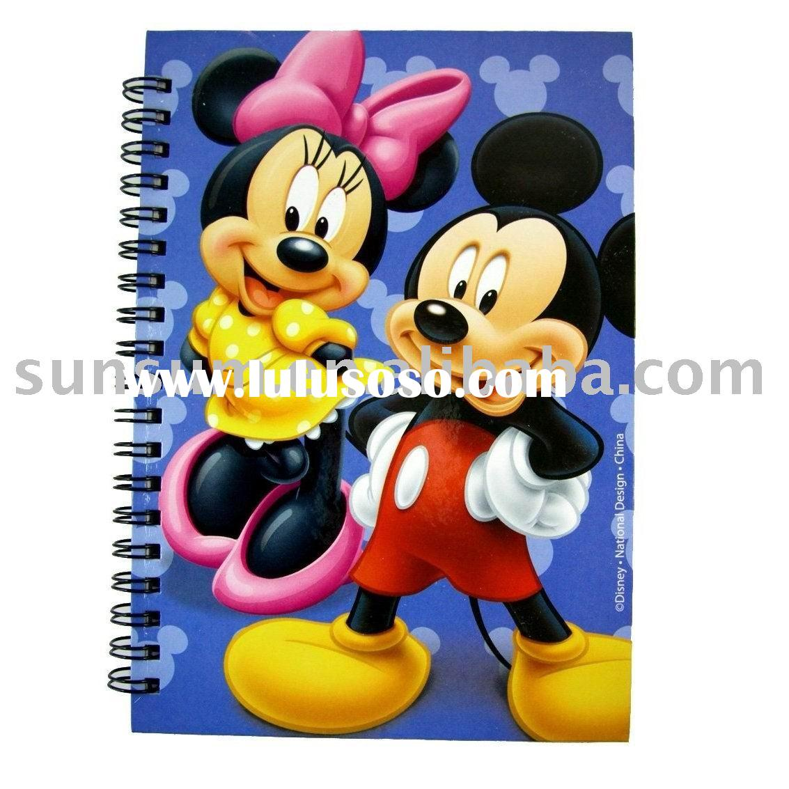 Mickey Mouse Journal - Mickey Mouse Notepad Notebook