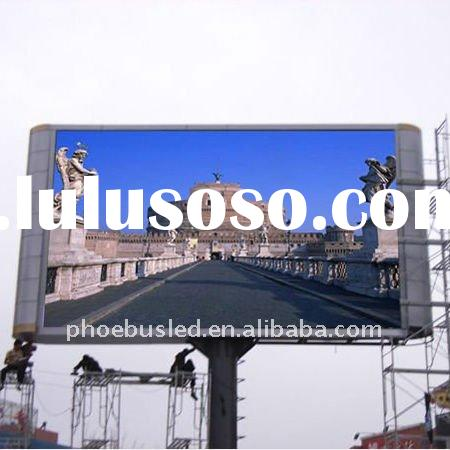 Mountain A-Li P16 Outdoor Full Color LED Display For Advertising and Video