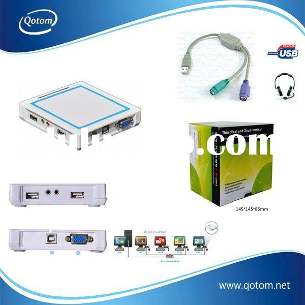 Multimedia office Network station,smart pc ,support full-screen film,with 2 USB ports.