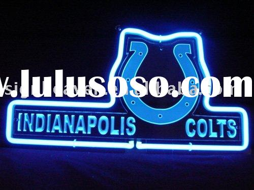 NFL INDIANAPOLIS COLTS FOOTBALL NEON LIGHT