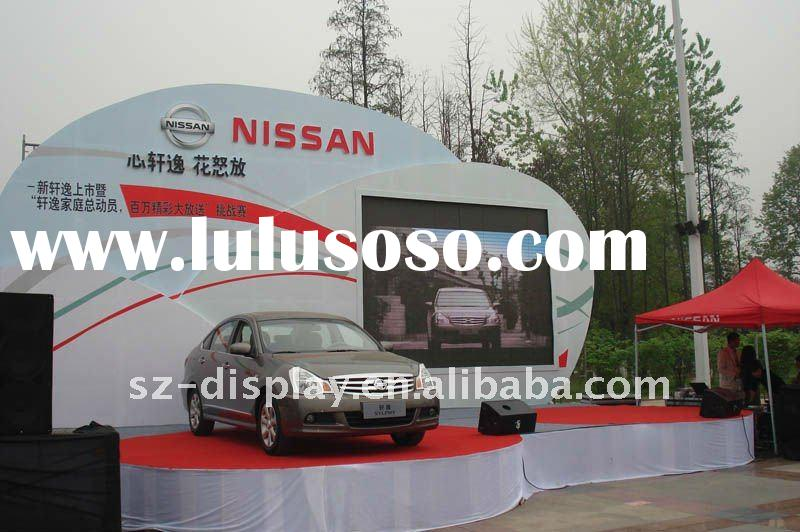 NISSAN Car Show PH6 indoor full color led rental display