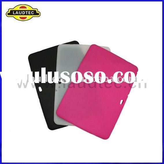 New Arrival Soft Skin Colorful Silicone Case Cover for Tablet Samsung Galaxy Tab 10.1