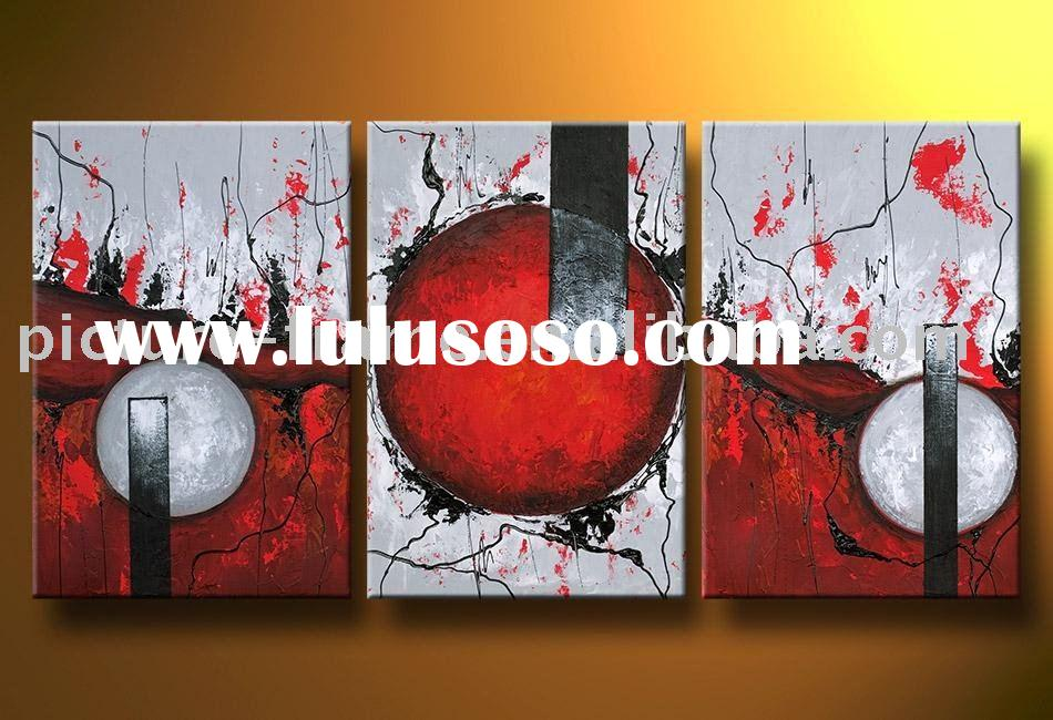 New canvas modern paintings,100%hand art painting