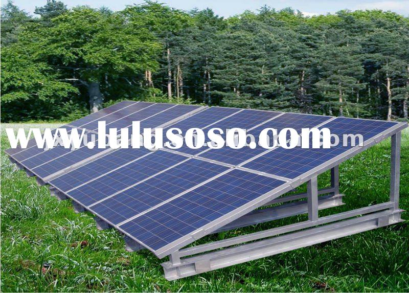 Off grid 5kw 5000w supply 15kw-25kw a day residential solar power system for home solar electric sol