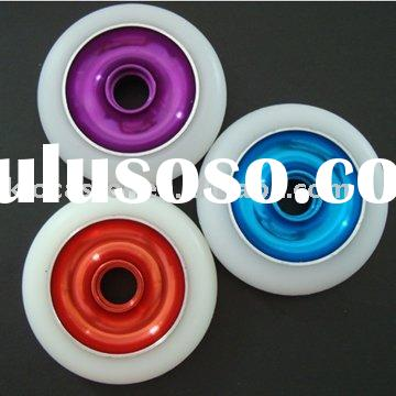 PU scooter wheels with metal core