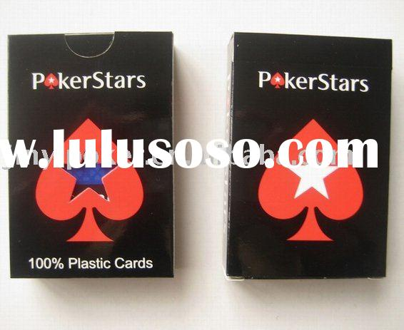 Poker Stars playing cards,Plastic playing cards,poker cards