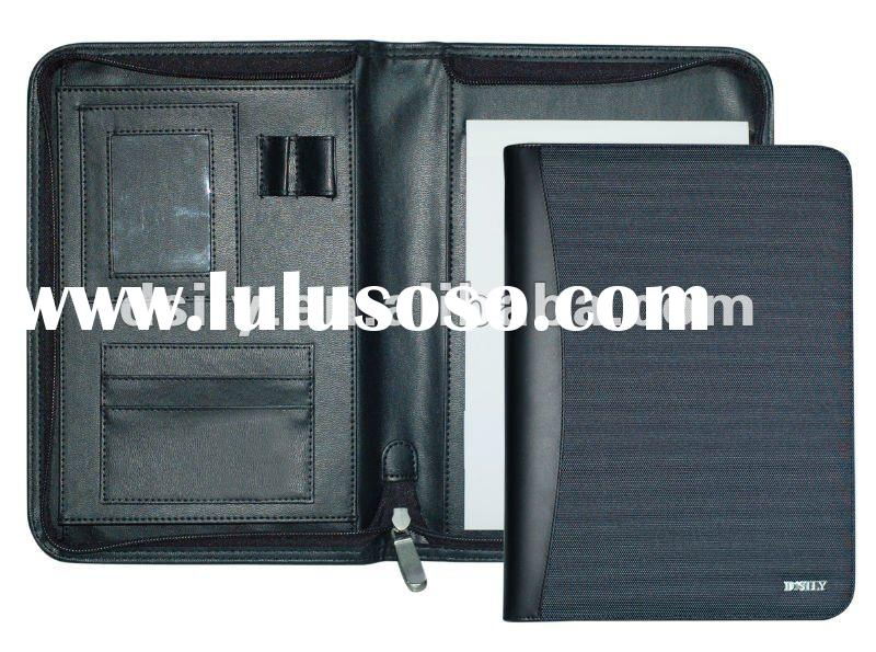Polyester Conference Folder with A4 Writing Pad