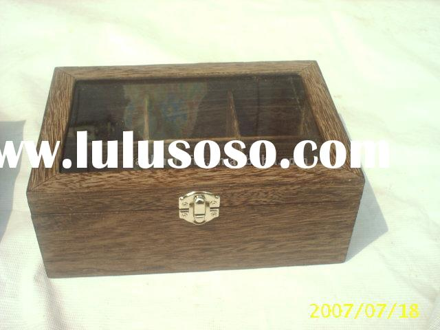 Promotional wooden tea box