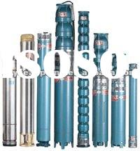 QJ QJR submersible pump and motor for borehole and deep well