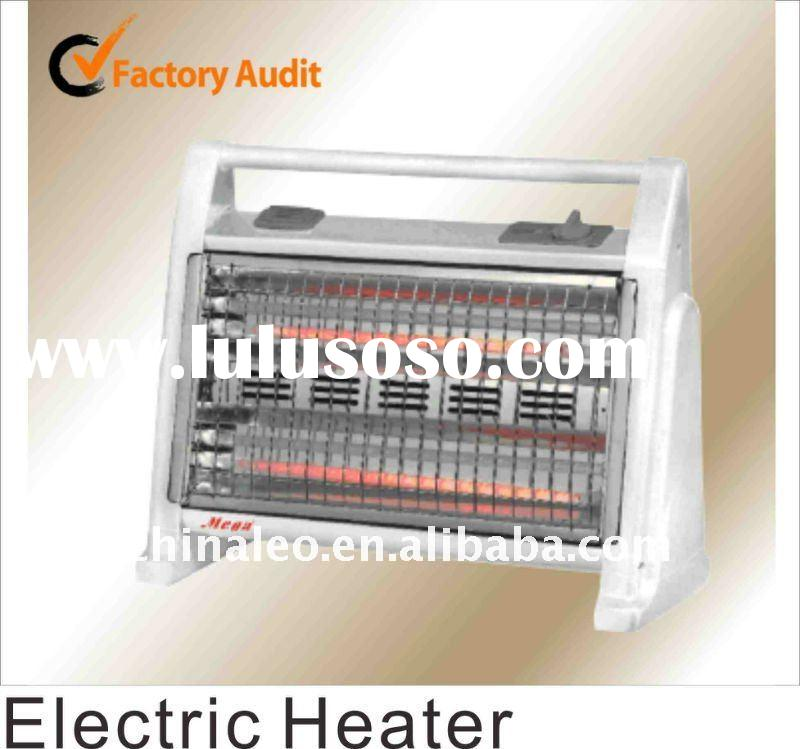 Quartz tube electric heater