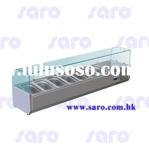 Refrigerated Table Top Display, Curved Glass Cover, AG084 to AG089 & AG102 to AG107