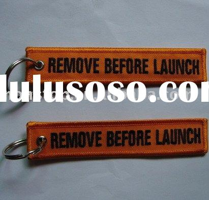 Remove Before Launch Key rings/Key chains