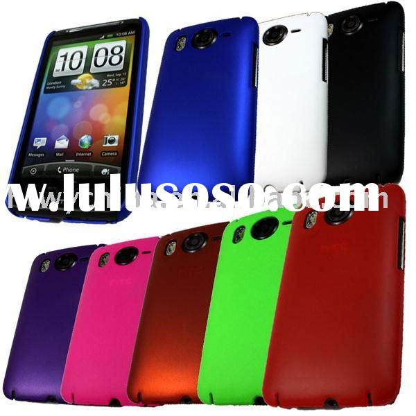 Rubber Hard Back Cover Case For HTC Desire HD Mobile Phone Accessory
