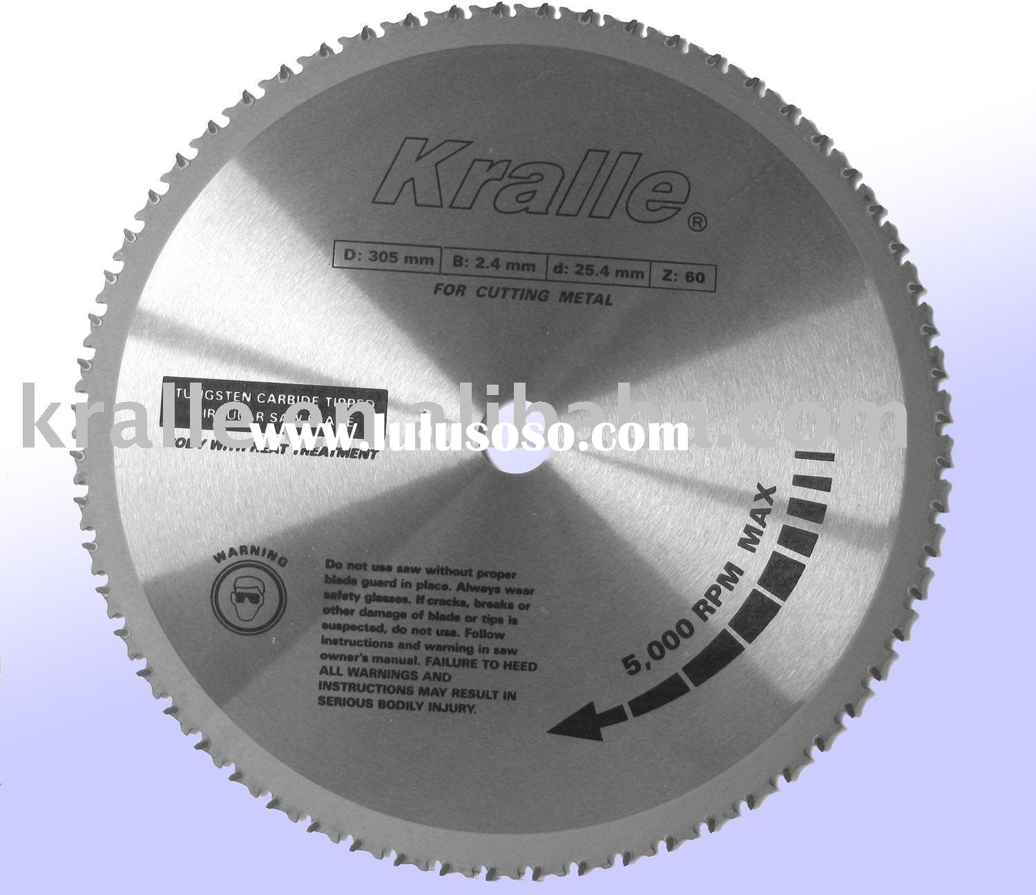 Sell T.C.T. Circular Saw Blade For Cutting Metal