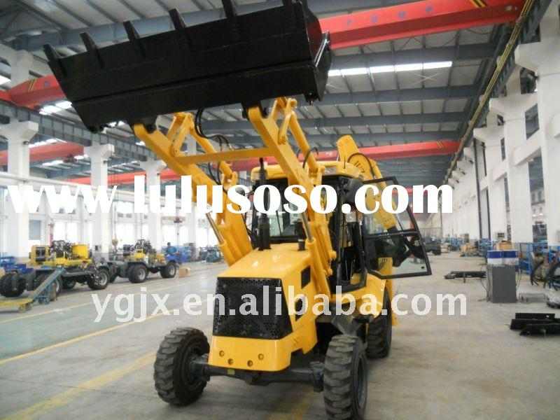 Similar to 3cx jcb backhoe loader WZL25-10, 4 wheel drive 7 ton mini backhoe loader with good price,