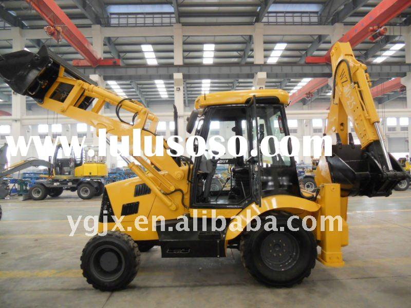 Similar to JCB backhoe loader 4 wheel drive 7 ton 0.96 m3 backhoe loader,China machine best price,di