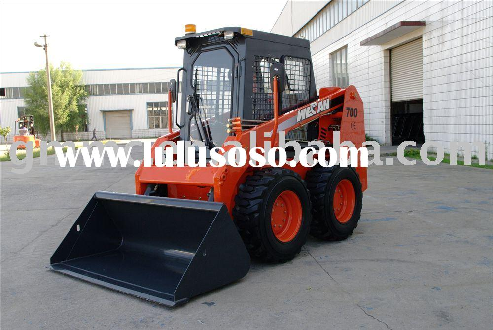 Skid Steer Loader With Attachments Model GM700