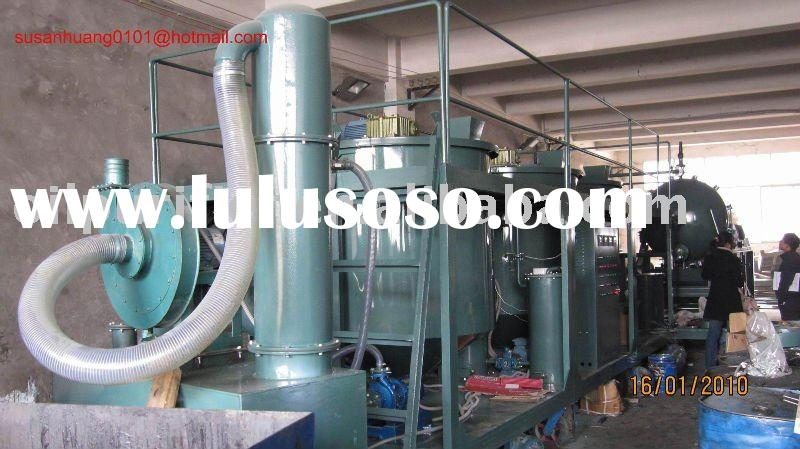 Small Engine oil recycling system/ Motor oil treatment/ car oil filtering system
